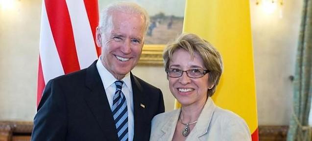FOTO: Joe Biden și Cristina Guseth